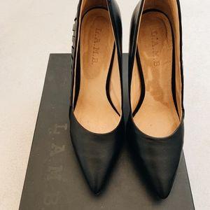 L.A.M.B Black Heels